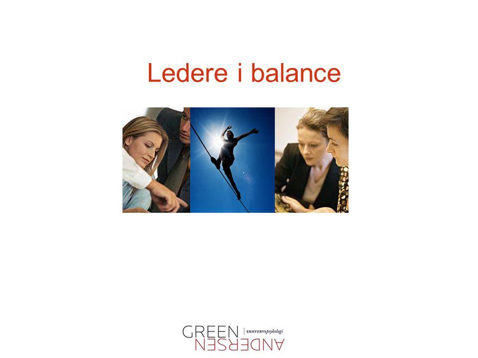 Ledere i balance