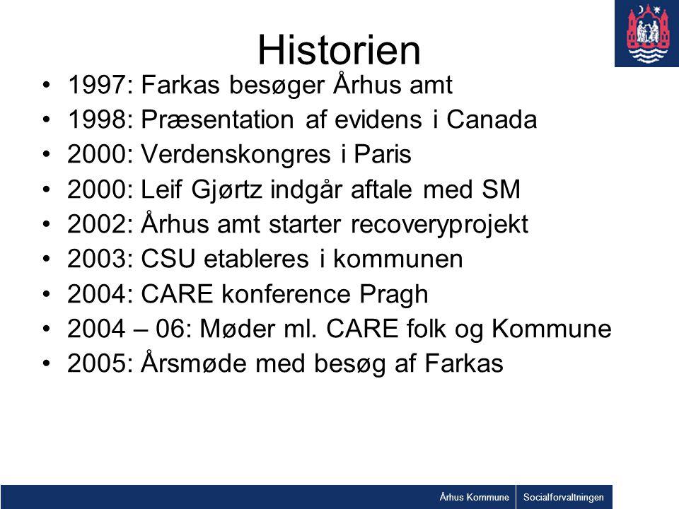 Historien 1997: Farkas besøger Århus amt