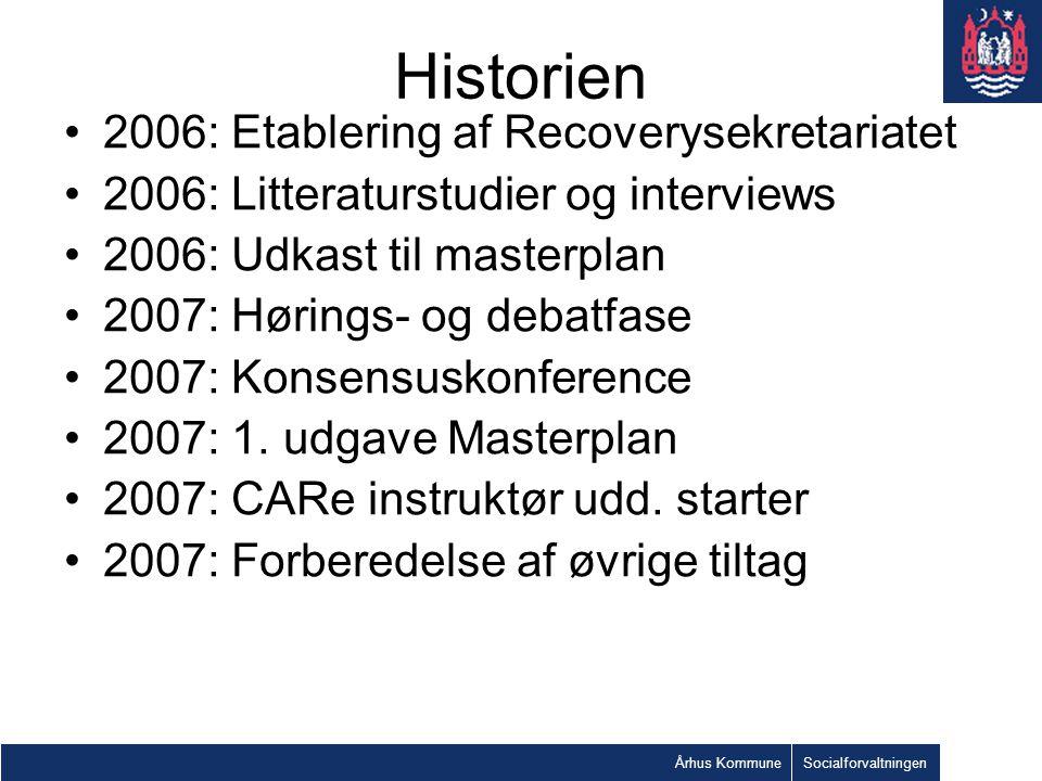 Historien 2006: Etablering af Recoverysekretariatet