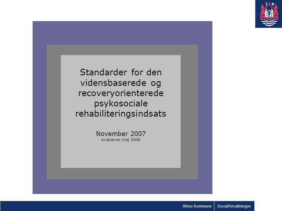 recoveryorienterede psykosociale rehabiliteringsindsats