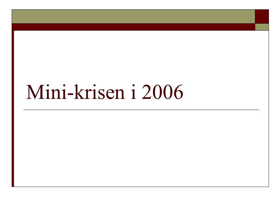Mini-krisen i 2006