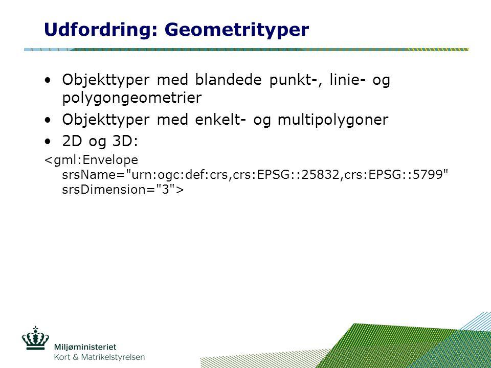 Udfordring: Geometrityper