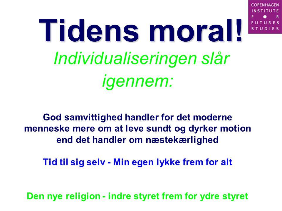 Tidens moral!