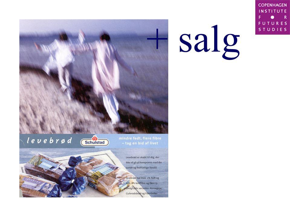 + salg
