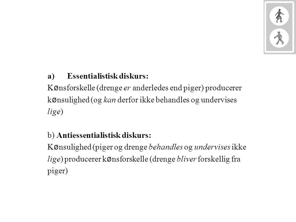 Essentialistisk diskurs: