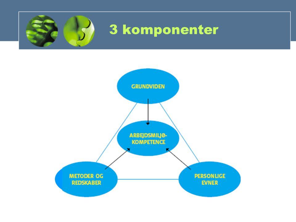 3 komponenter