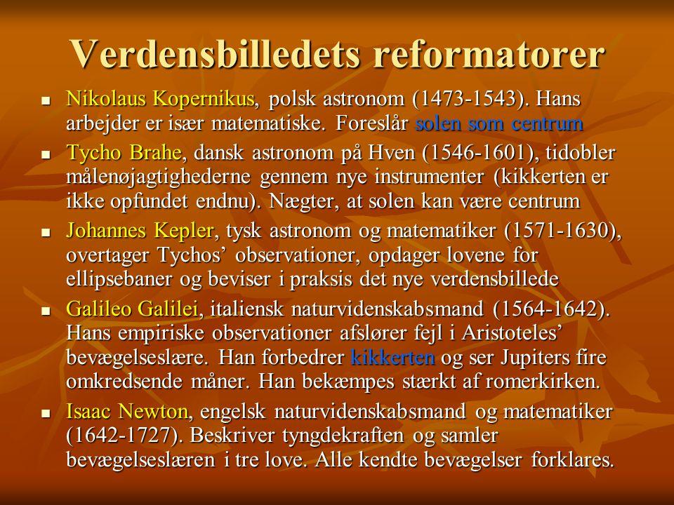 Verdensbilledets reformatorer