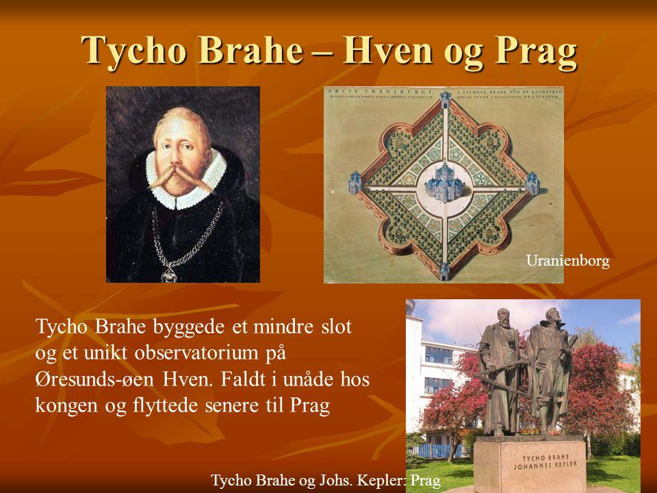 Tycho Brahe – Hven og Prag