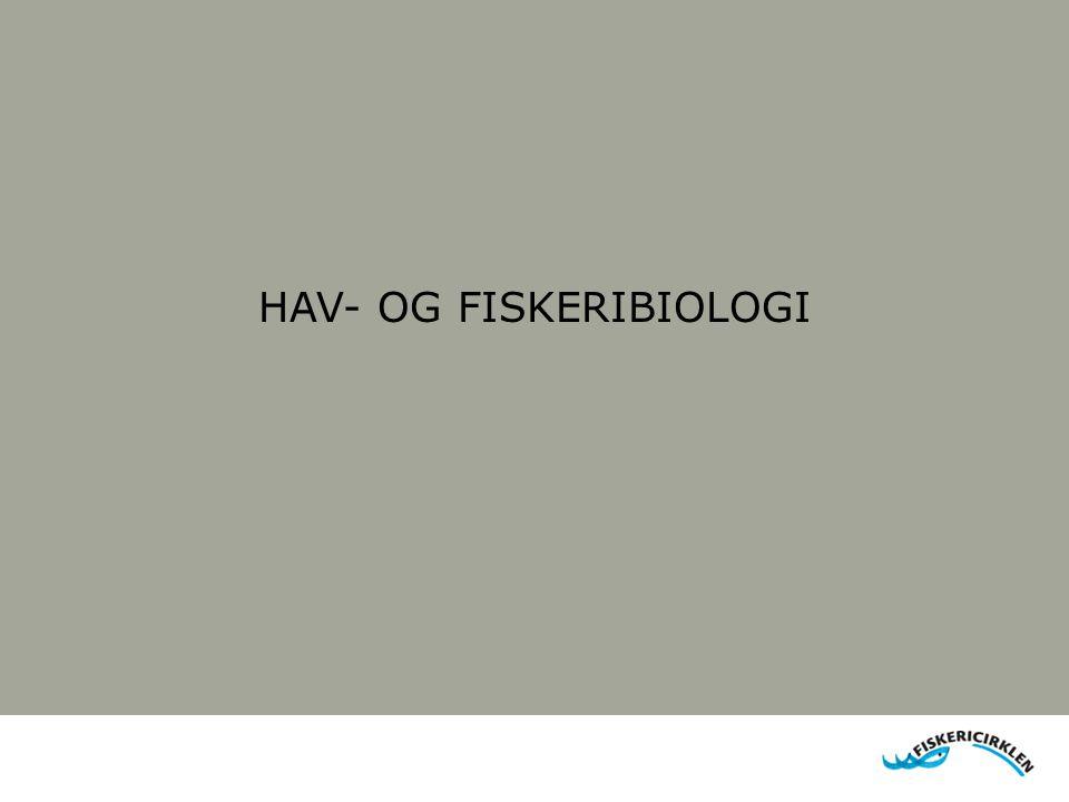 HAV- OG FISKERIBIOLOGI