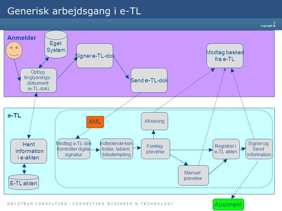 Generisk arbejdsgang i e-TL