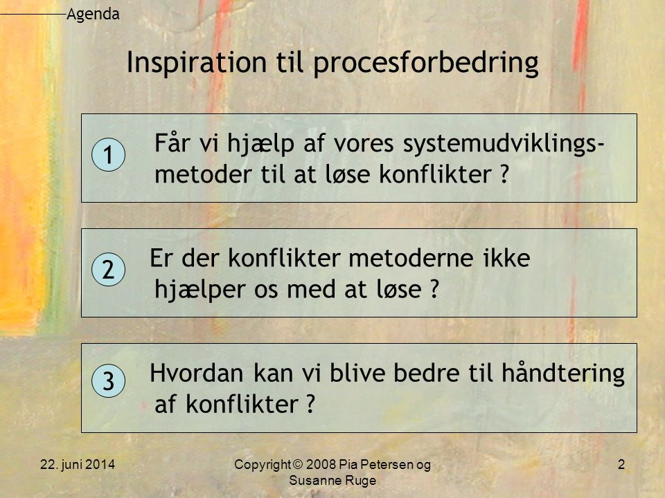 Inspiration til procesforbedring