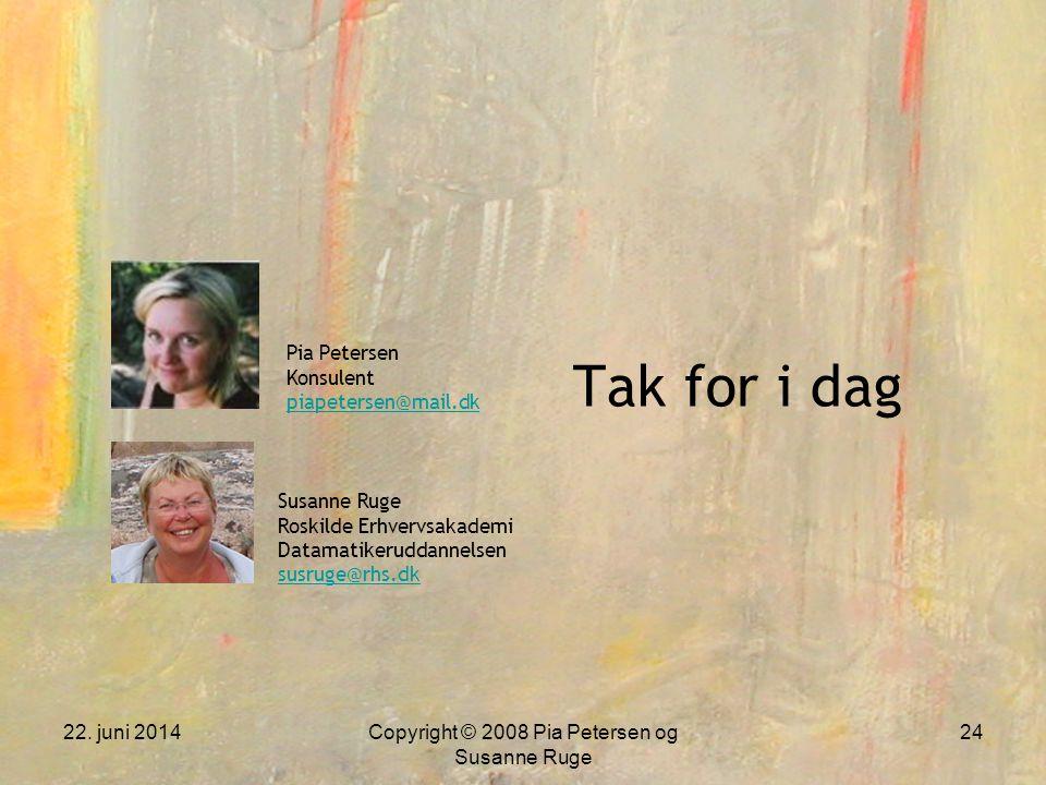 Copyright © 2008 Pia Petersen og Susanne Ruge