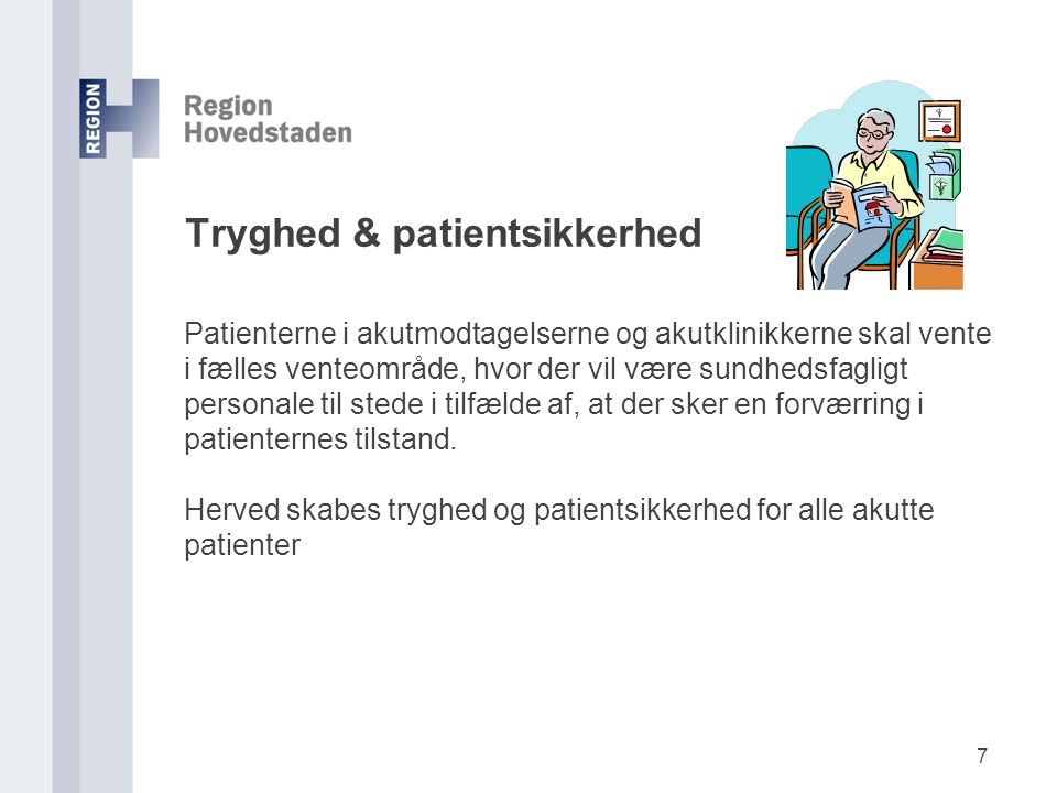 Tryghed & patientsikkerhed