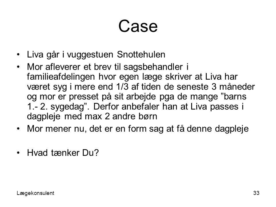 Case Liva går i vuggestuen Snottehulen