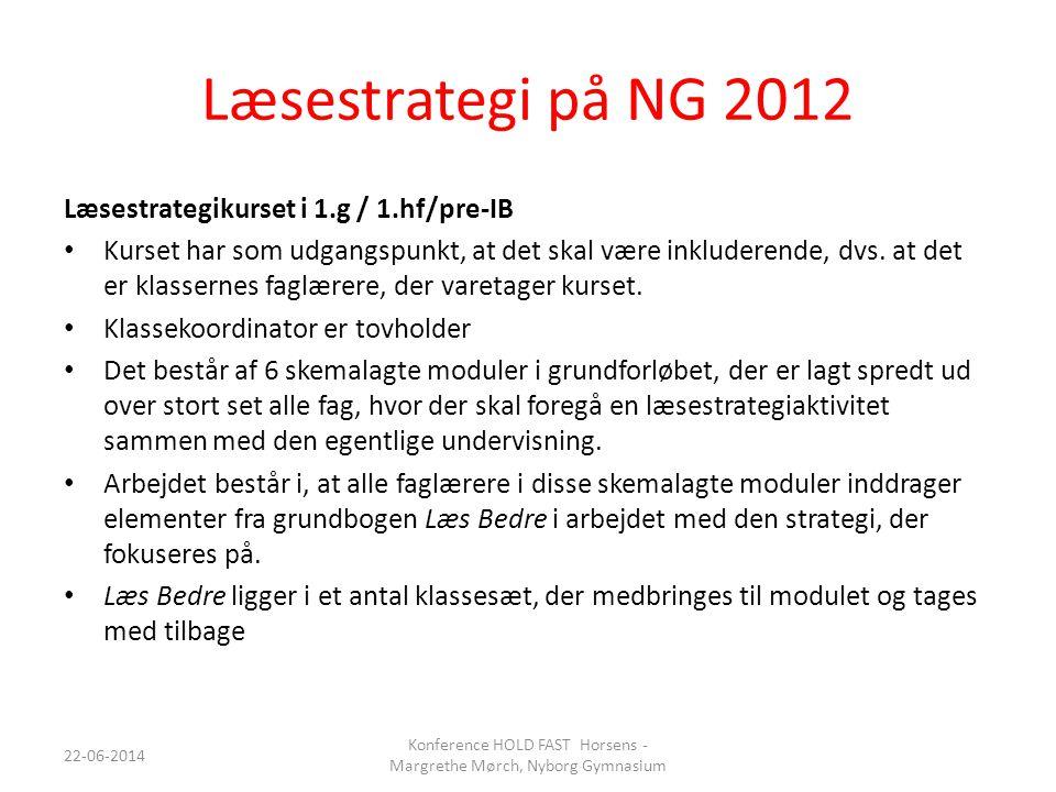 Konference HOLD FAST Horsens - Margrethe Mørch, Nyborg Gymnasium