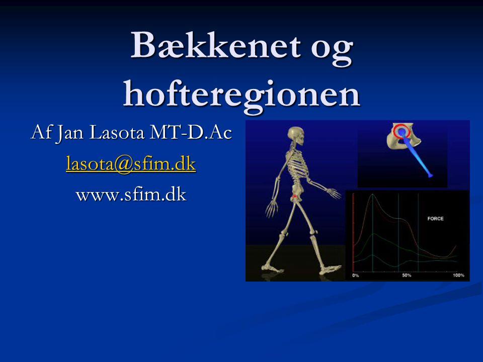 Bækkenet og hofteregionen