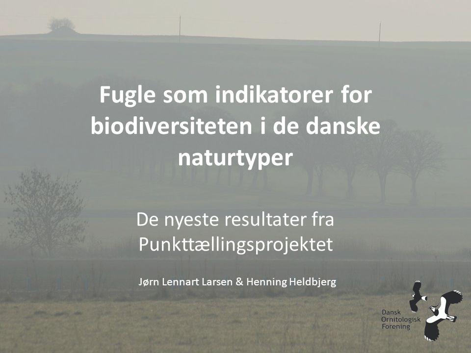 Fugle som indikatorer for biodiversiteten i de danske naturtyper