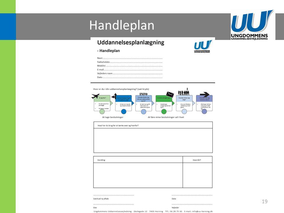 Handleplan