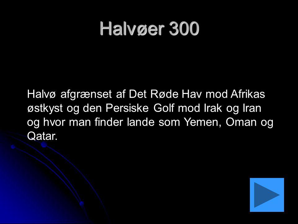 Halvøer 300