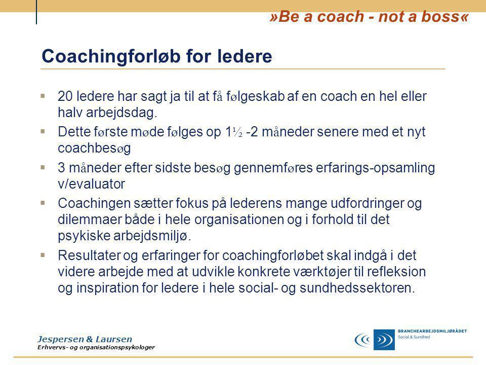 Coachingforløb for ledere