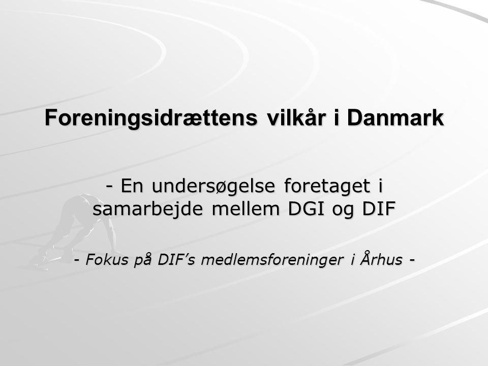 Foreningsidrættens vilkår i Danmark