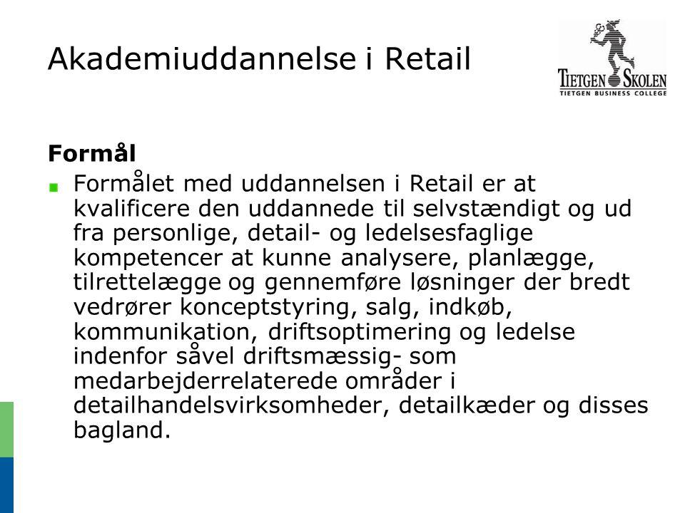 Akademiuddannelse i Retail