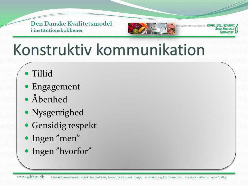 Konstruktiv kommunikation