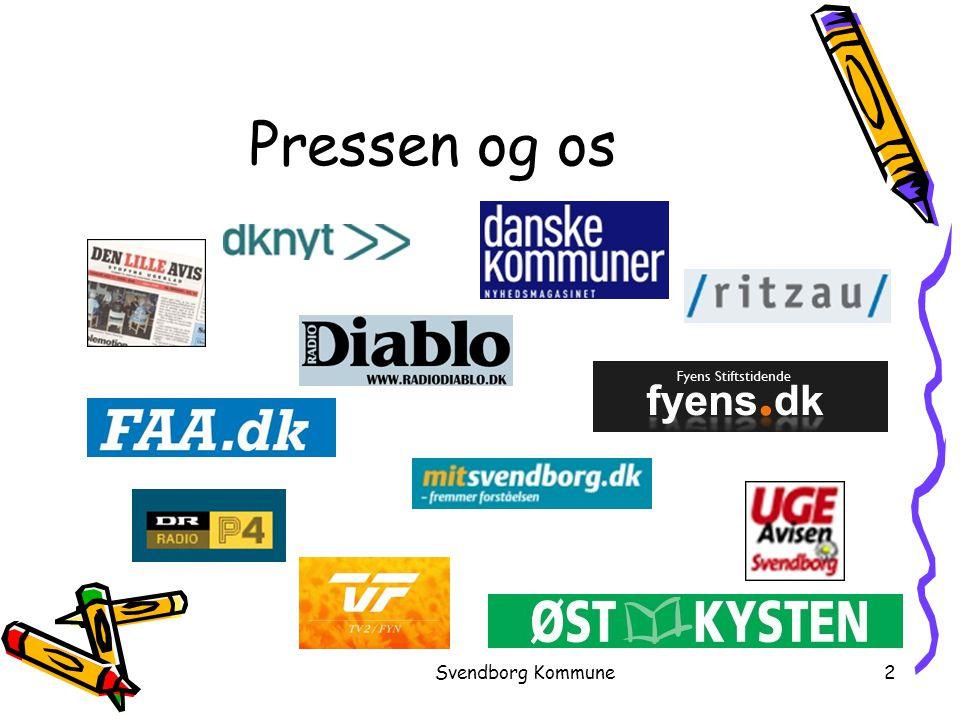 Pressen og os Svendborg Kommune
