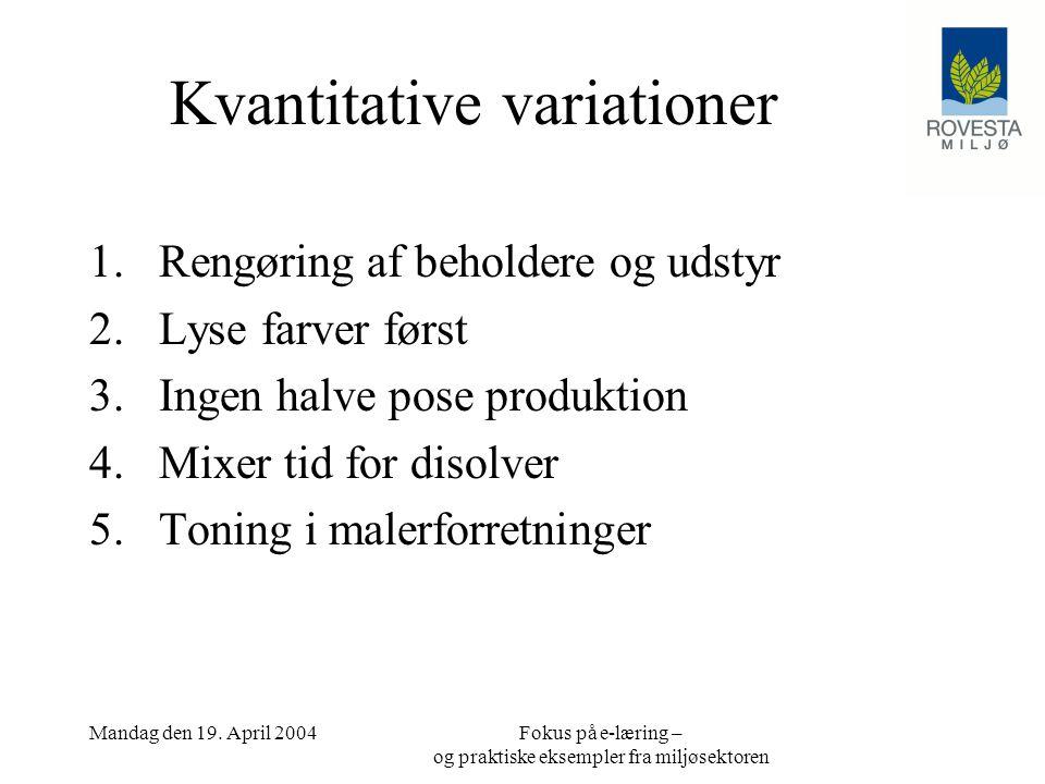 Kvantitative variationer