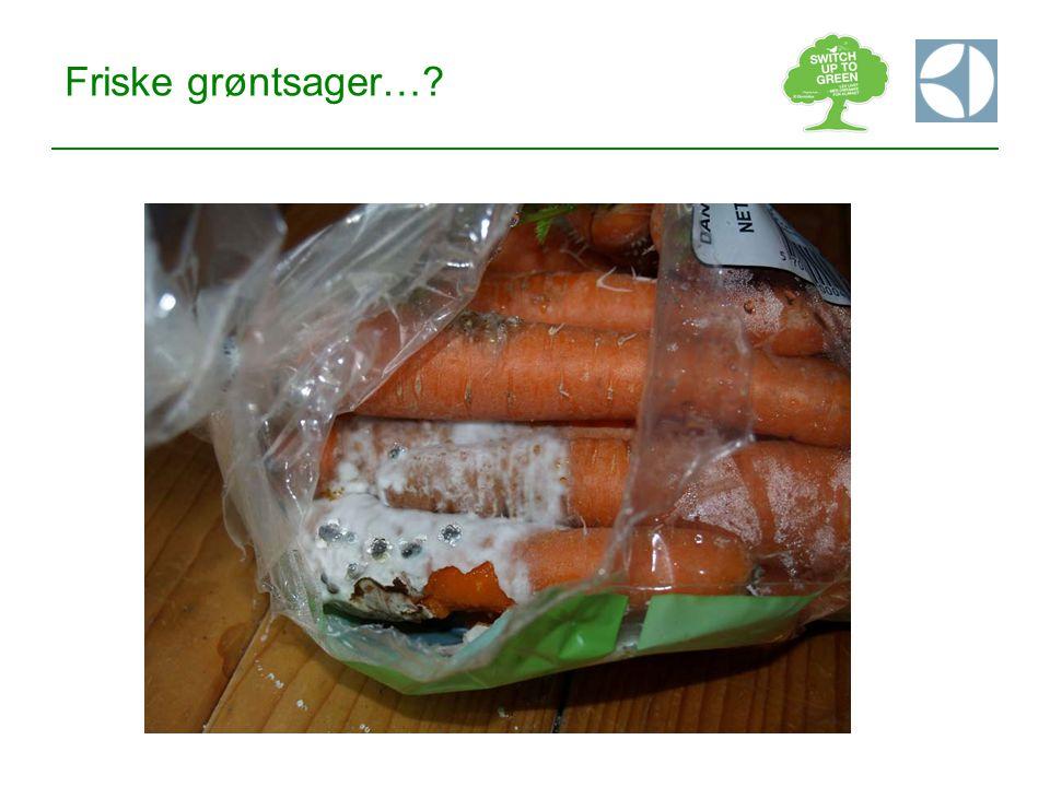 Friske grøntsager…