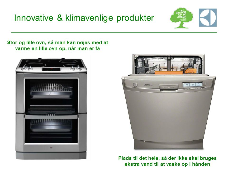 Innovative & klimavenlige produkter