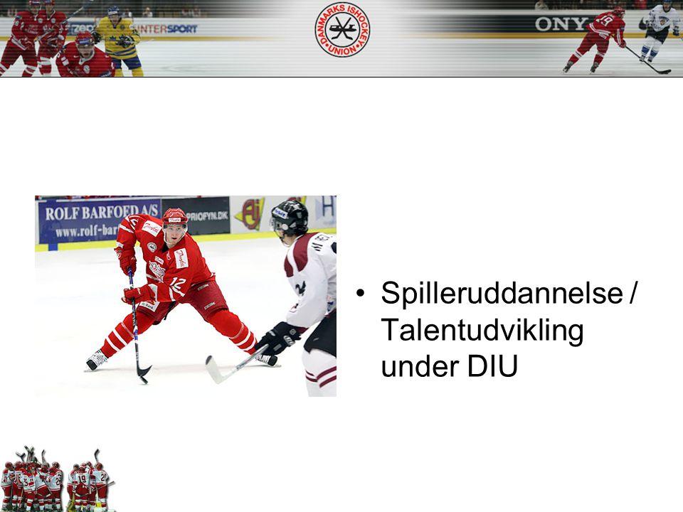 Spilleruddannelse / Talentudvikling under DIU