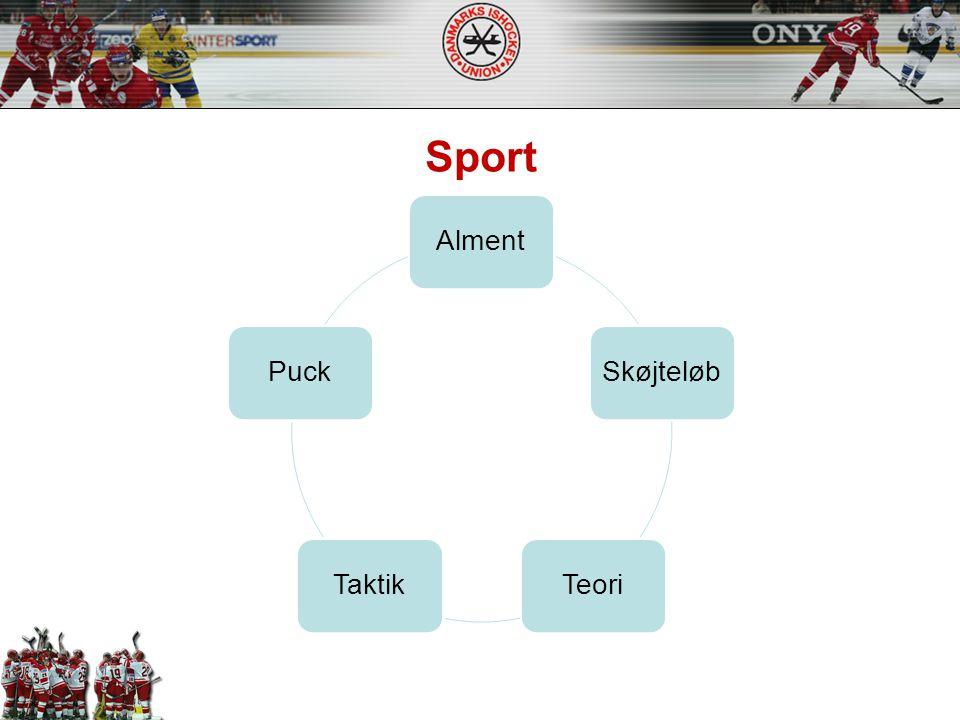 Sport Alment Skøjteløb Teori Taktik Puck
