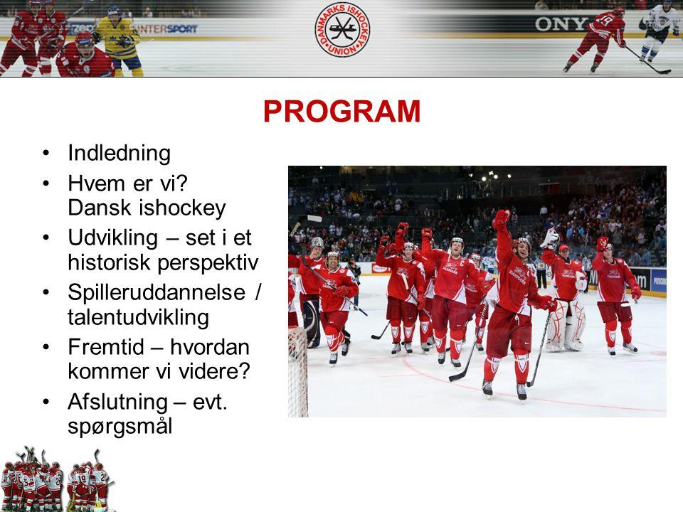 PROGRAM Indledning Hvem er vi Dansk ishockey