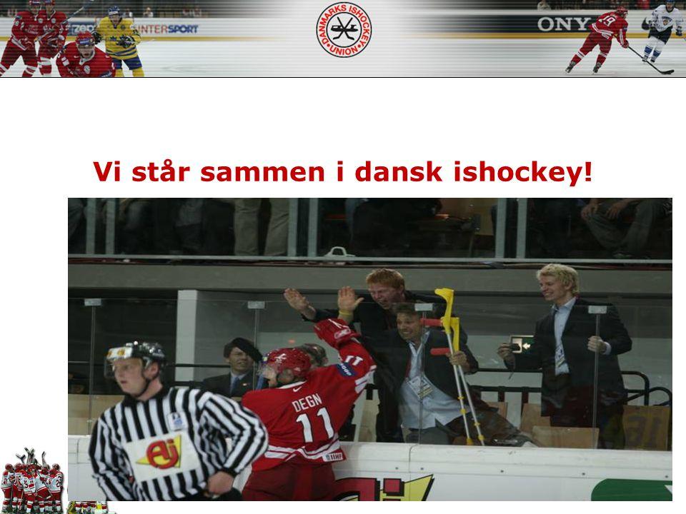 Vi står sammen i dansk ishockey!