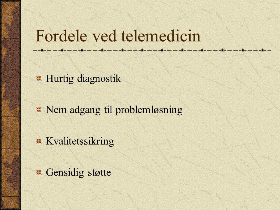 Fordele ved telemedicin