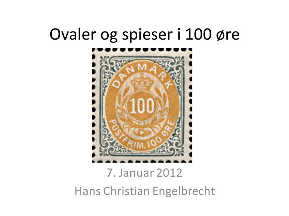 7. Januar 2012 Hans Christian Engelbrecht