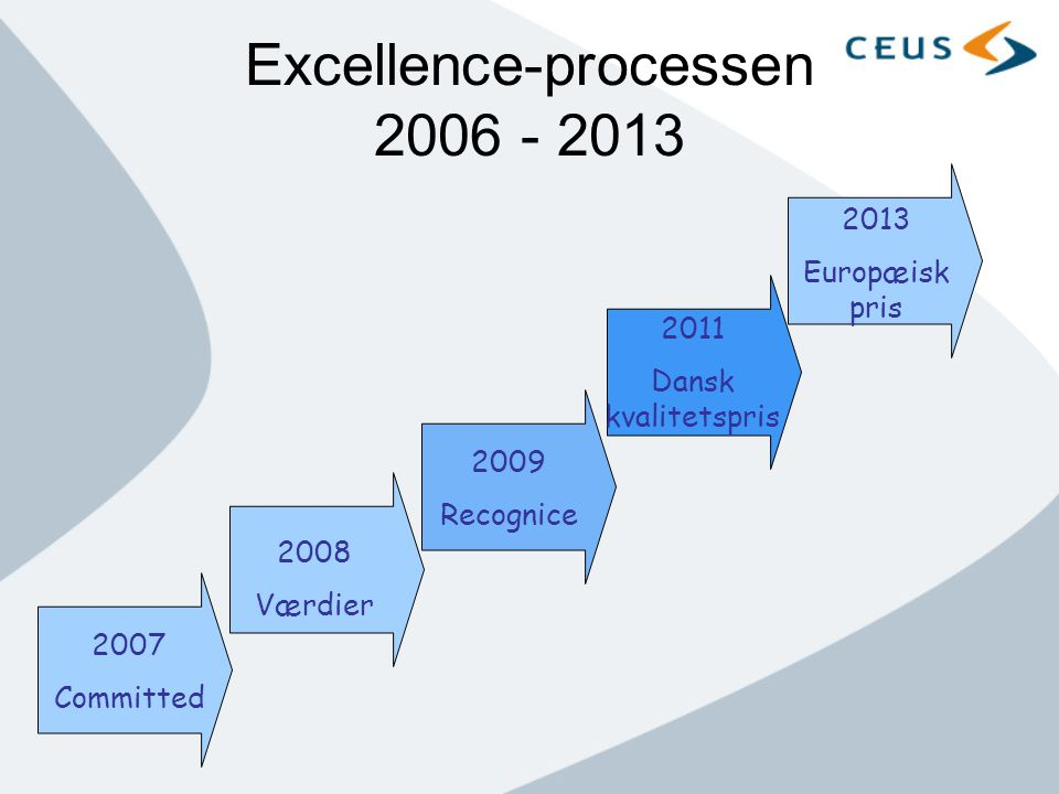 Excellence-processen 2006 - 2013