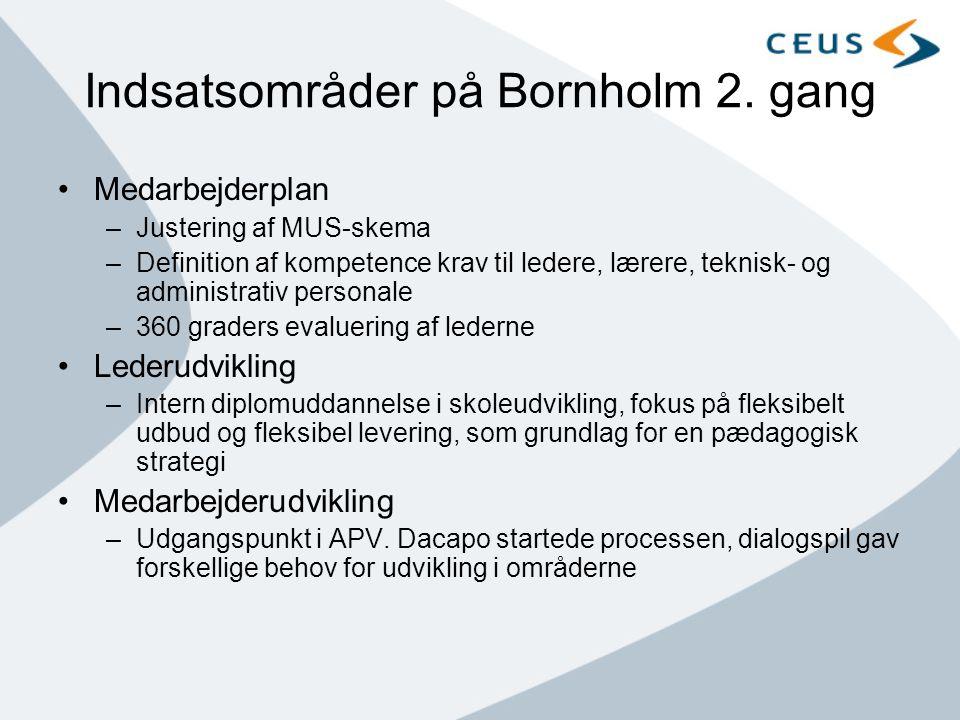 Indsatsområder på Bornholm 2. gang