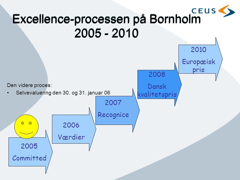 Excellence-processen på Bornholm 2005 - 2010