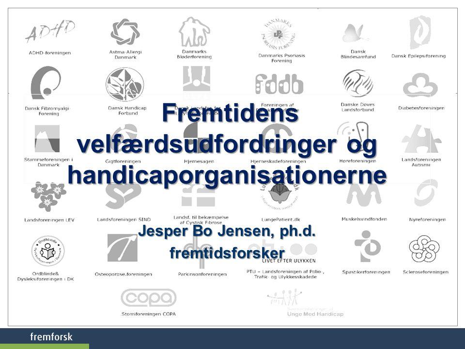 Fremtidens velfærdsudfordringer og handicaporganisationerne
