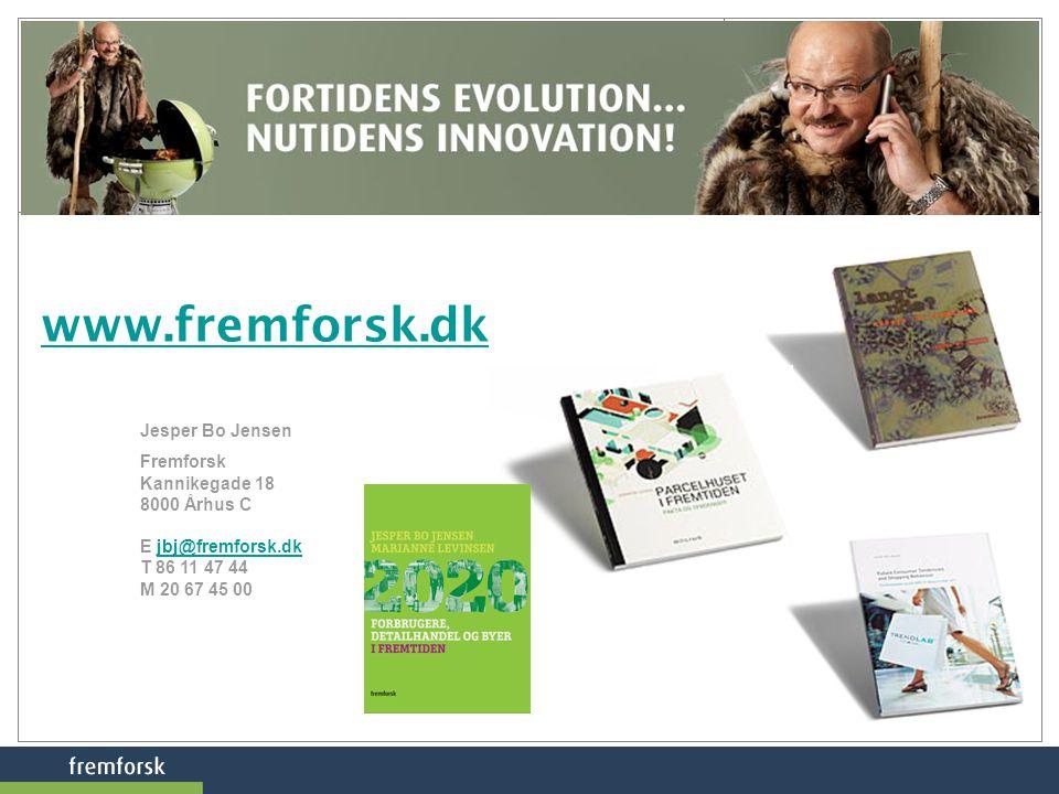 www.fremforsk.dk Jesper Bo Jensen