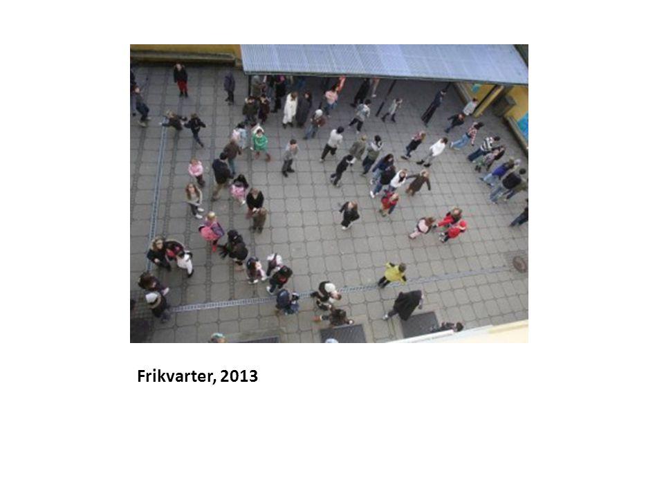 Frikvarter, 2013
