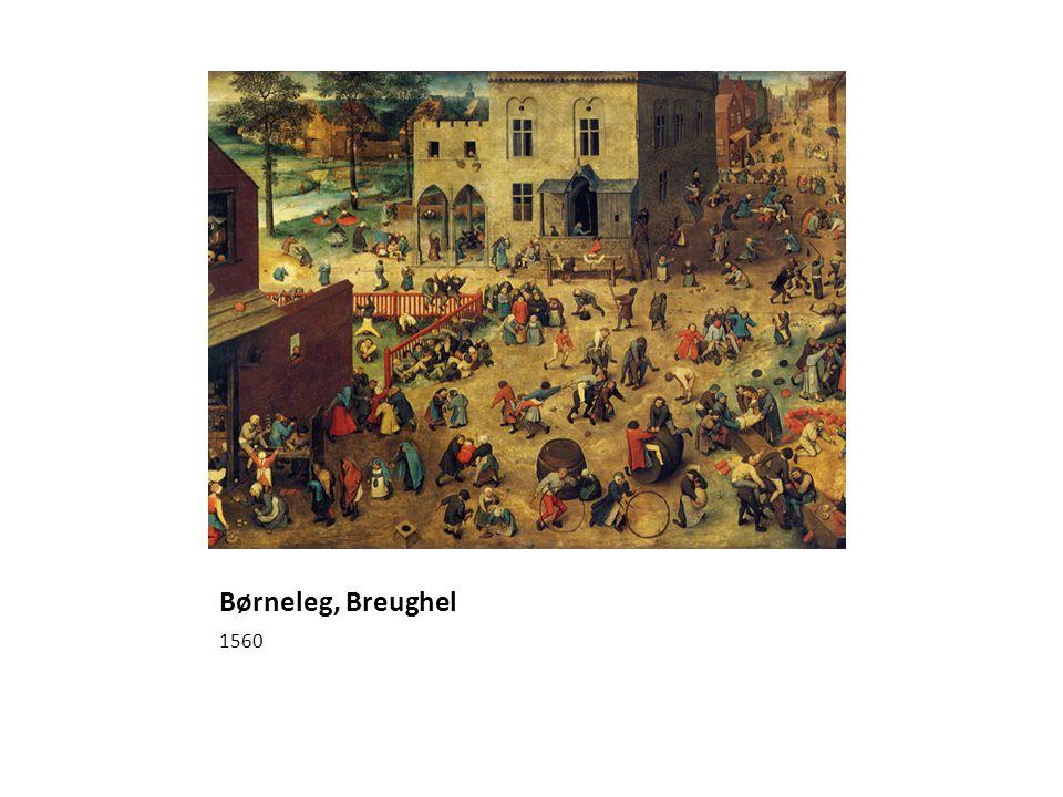Børneleg, Breughel 1560