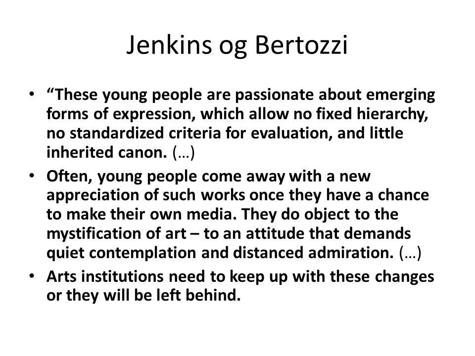 Jenkins og Bertozzi