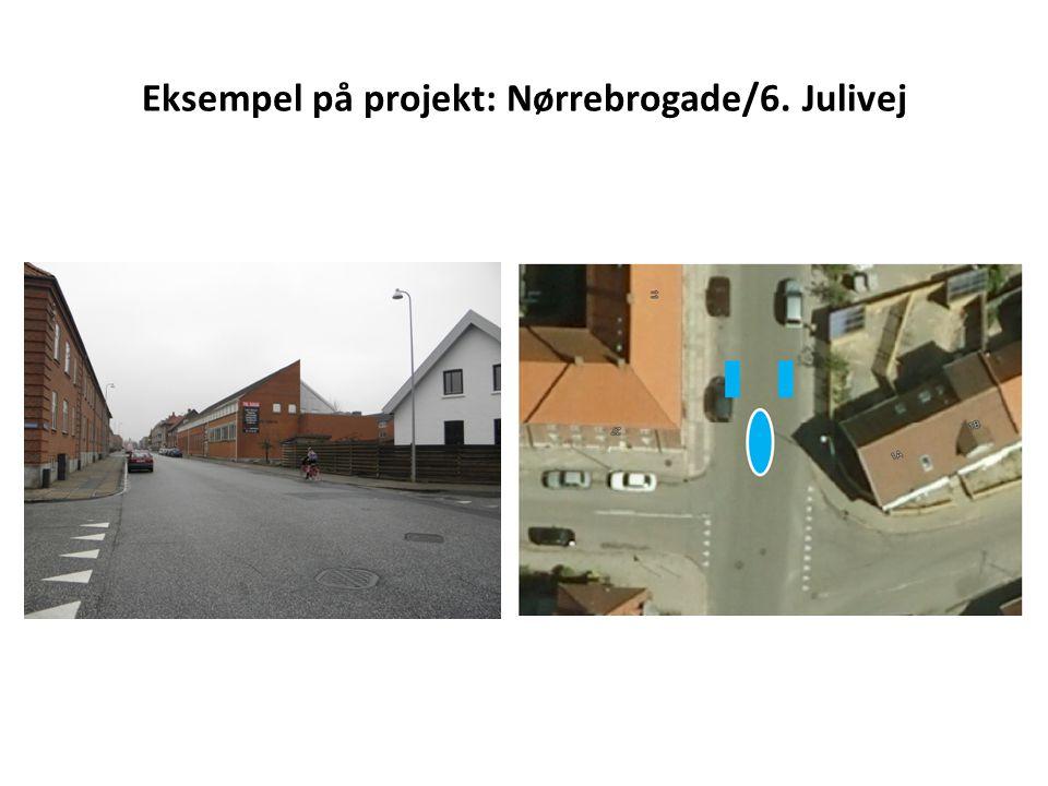 Eksempel på projekt: Nørrebrogade/6. Julivej