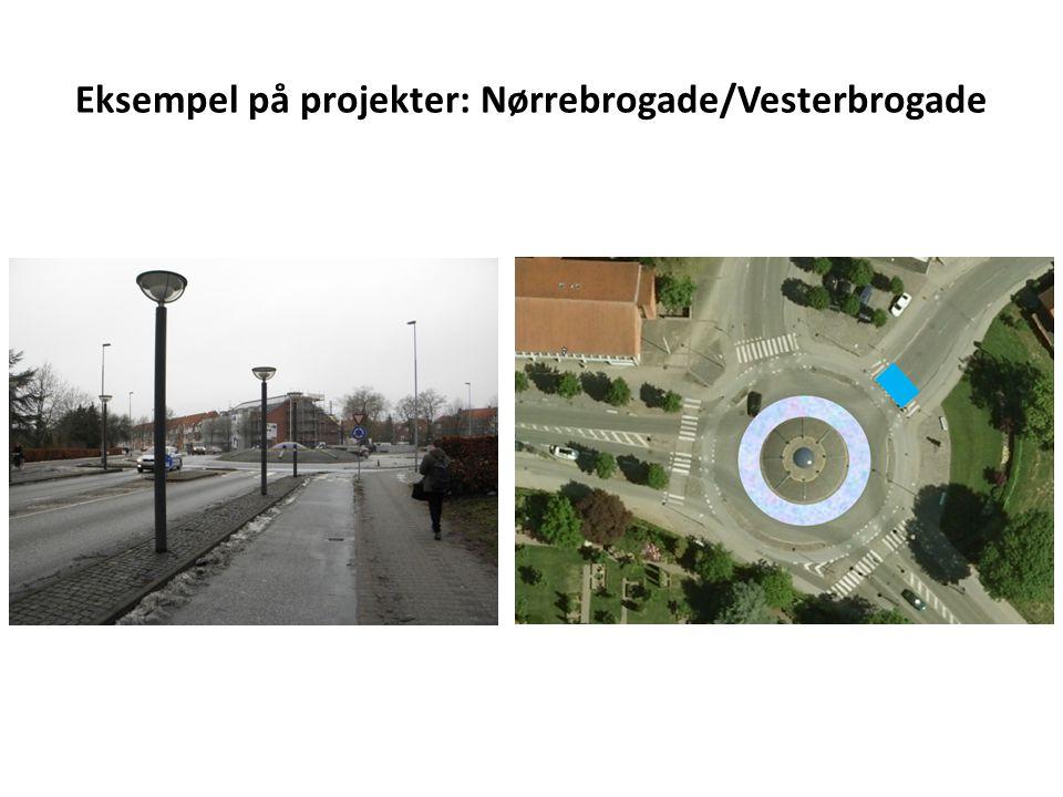 Eksempel på projekter: Nørrebrogade/Vesterbrogade