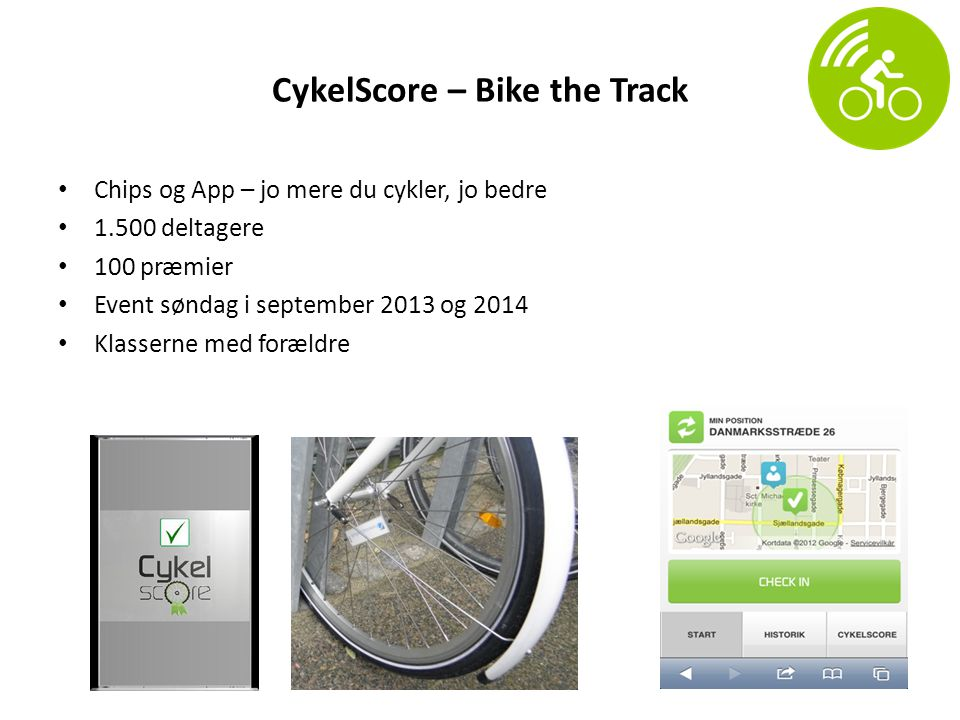 CykelScore – Bike the Track