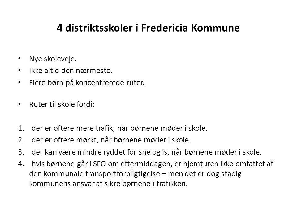 4 distriktsskoler i Fredericia Kommune