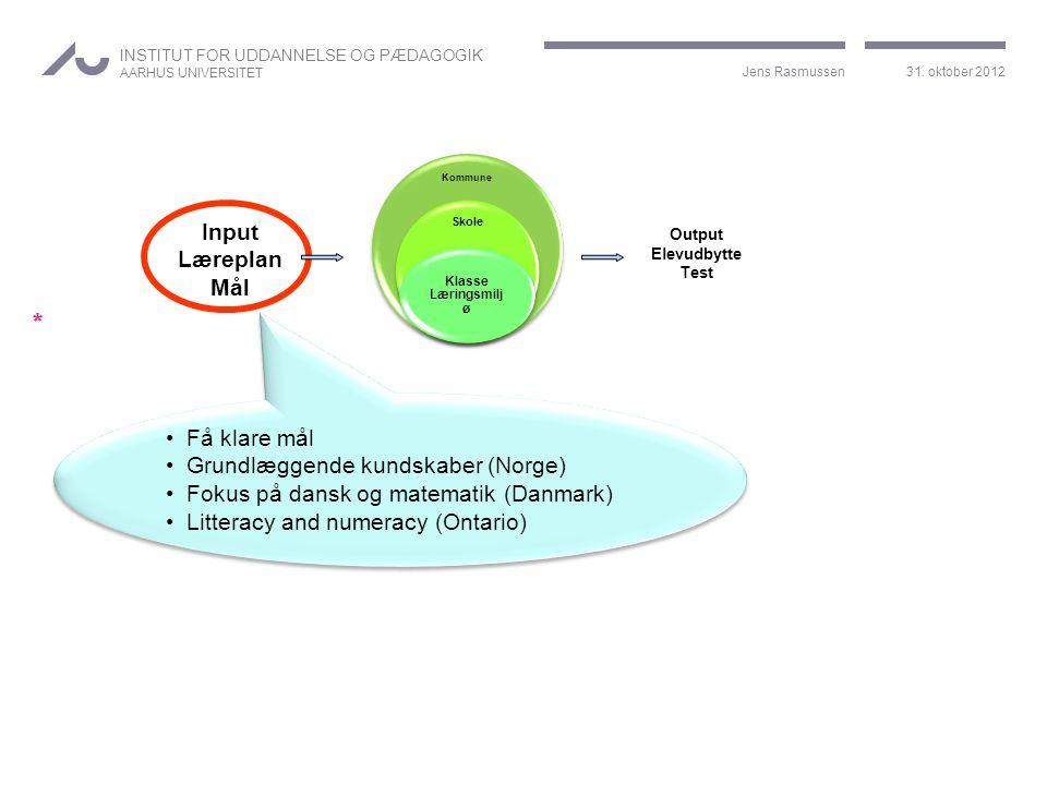 Grundlæggende kundskaber (Norge) Fokus på dansk og matematik (Danmark)